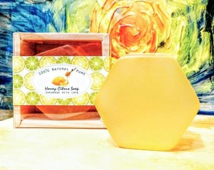 晶緻檸蜜皂
