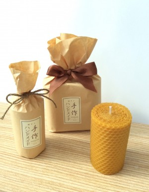 Natural Bee Wax Candle 天然蜂蠟燭